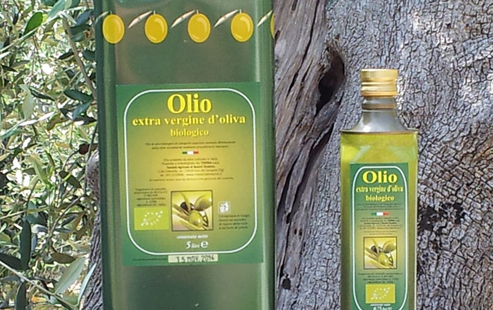 "The extra virgin olive oil of  ""Masseria Le Macine"""